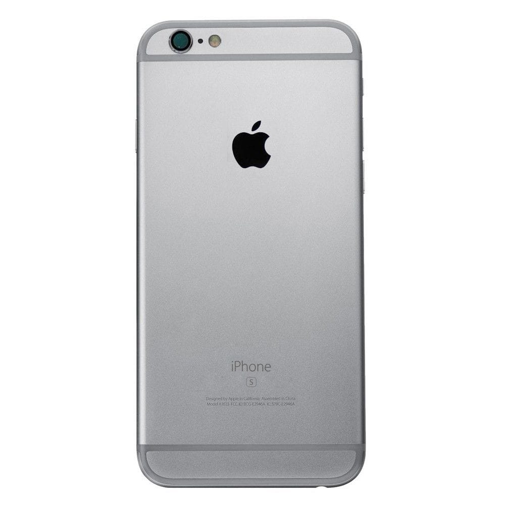 Space Gray Back Housing Mid Frame Cables, Parts for iPhone 6S A1633 A1688 A1700 Pic2