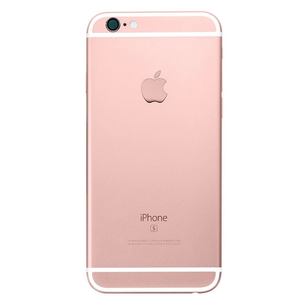 Rose Gold Back Housing Mid Frame Cables, Parts for iPhone 6S A1633 A1688 A1700 Pic2