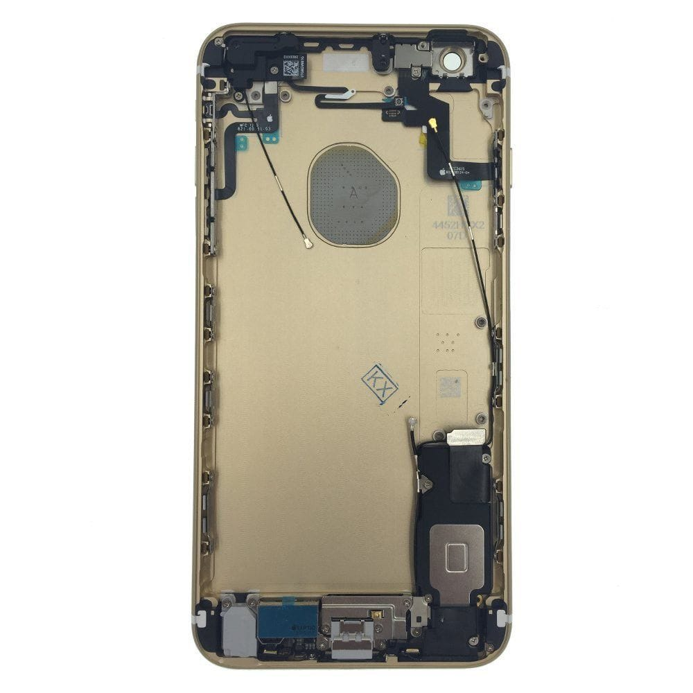 Gold Back Housing Mid Frame Assembly with Parts iPhone 6S Plus A1634 A1687 A1699 Pic1