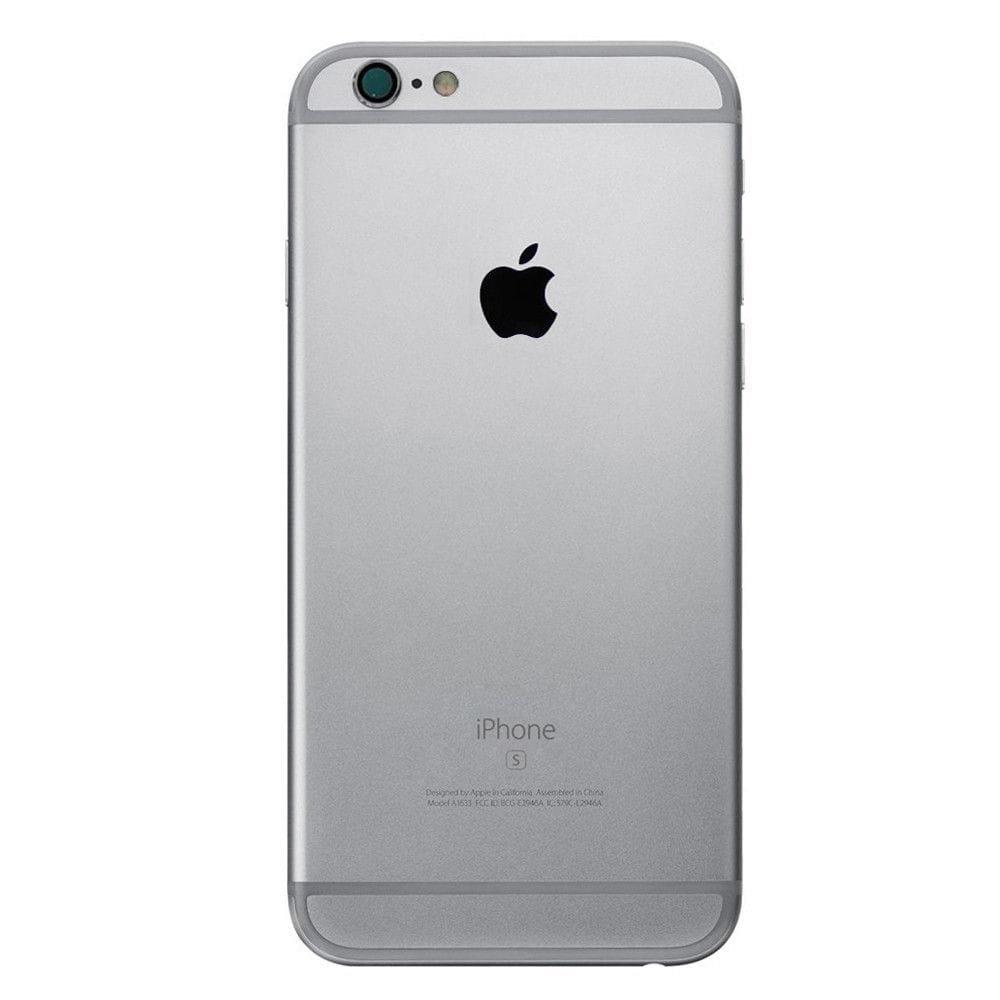 Gray Back Housing Mid Frame Assembly with Parts iPhone 6S Plus A1634 A1687 A1699 Pic2