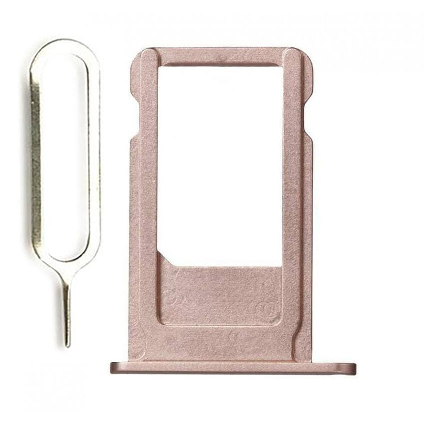 Rose Gold SIM Card Tray Holder with Eject Tool iPhone 6S Plus A1634 A1687 A1699 Pic0