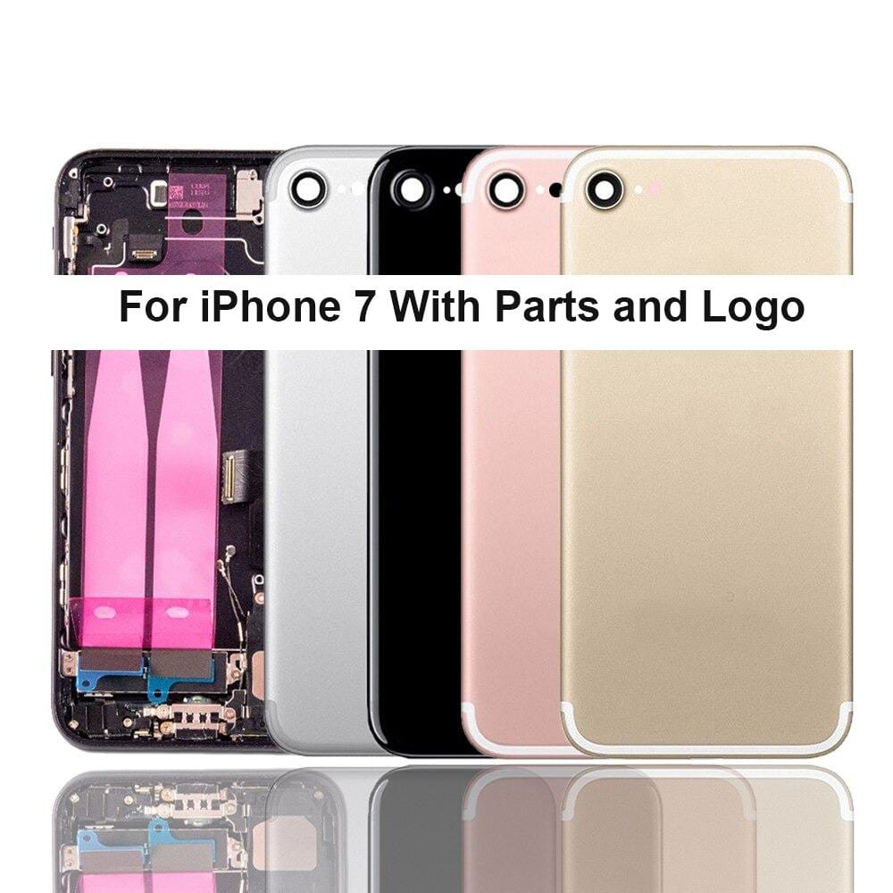 Back Housing Mid Frame Assembly With Parts for iPhone 7 A1660 A1778 A1779 Pic0