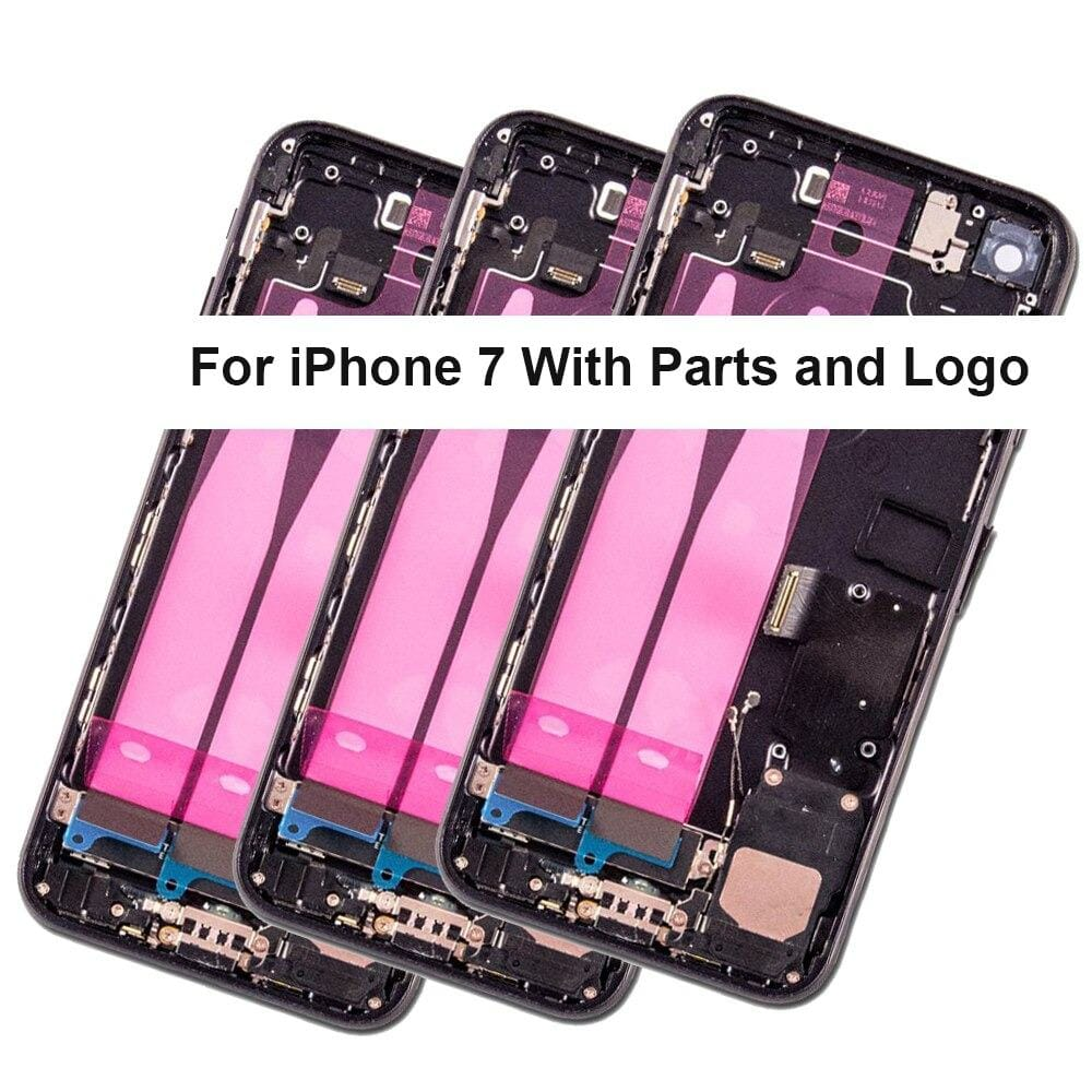 Back Housing Mid Frame Assembly With Parts for iPhone 7 A1660 A1778 A1779 Pic1