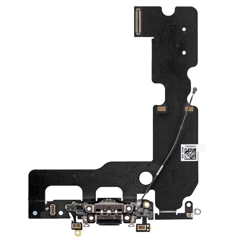 Black Charging Dock Port Assembly Flex Cable for iPhone 7 Plus A1661 A1784 A1785 Pic0