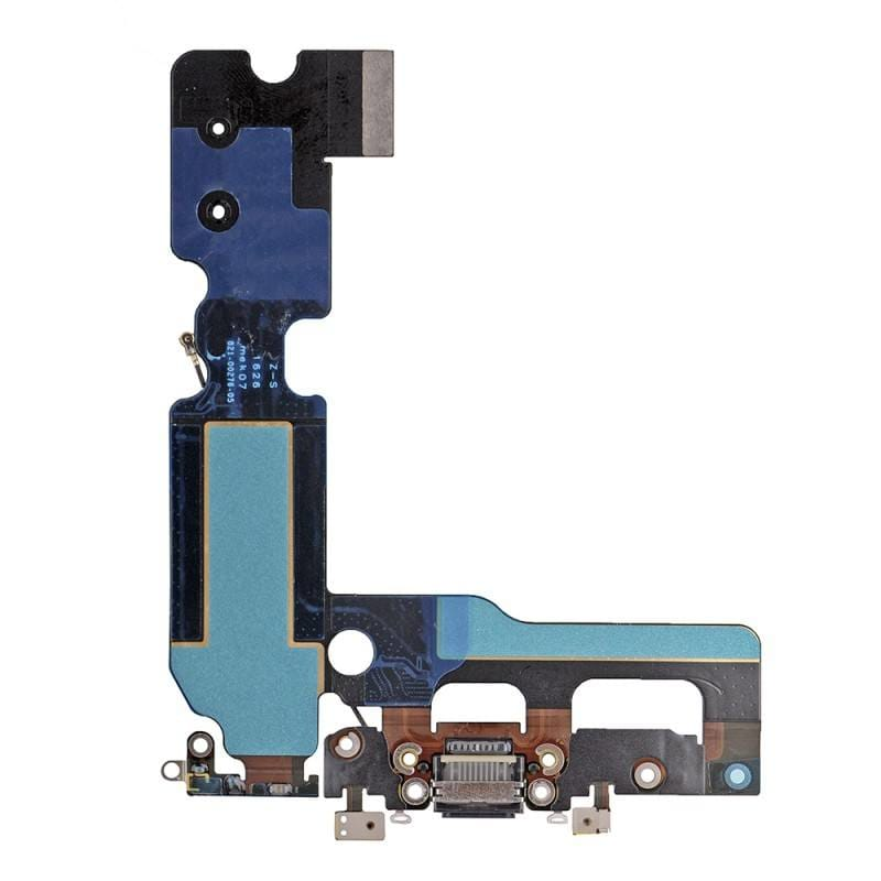 Black Charging Dock Port Assembly Flex Cable for iPhone 7 Plus A1661 A1784 A1785 Pic1