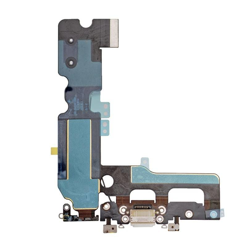 White Charging Dock Port Assembly Flex Cable for iPhone 7 Plus A1661 A1784 A1785 Pic1