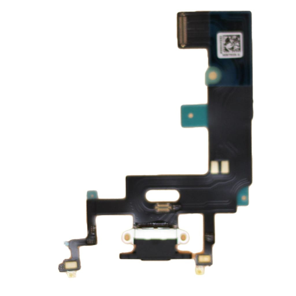 Black Charging Charge Port Lightning Connector for iPhone XR A1984 A2106 A2108 Pic0