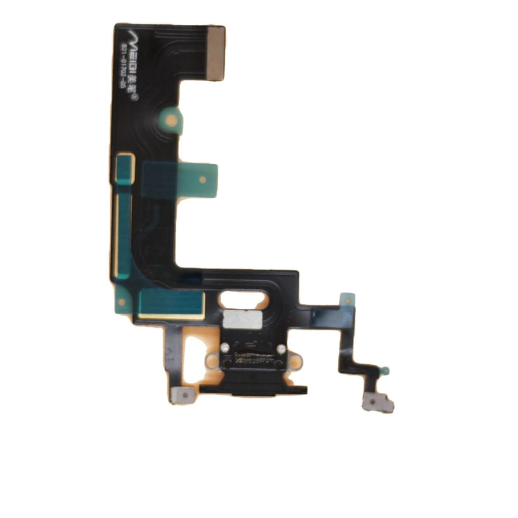 Black Charging Charge Port Lightning Connector for iPhone XR A1984 A2106 A2108 Pic1