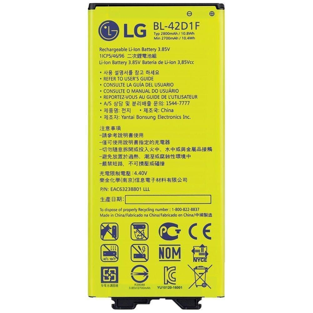 Original LG G5 BL-42D1F 2800 mAh Battery for model H820 H831 H840 H850 H860 H868 Pic1