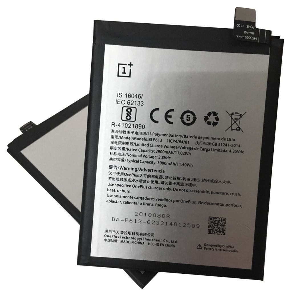 Original BLP613 3000 mAh Battery Replacement for OnePlus 3 A3000 A3003 Pic4