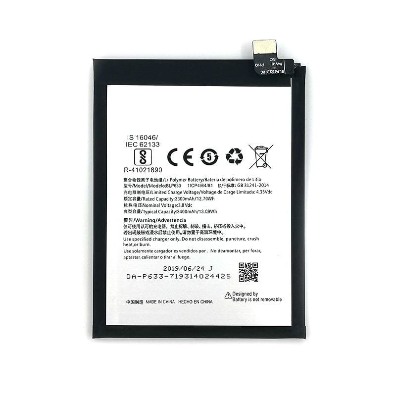 Original BLP633 3400 mAh Battery Replacement for OnePlus 3T A3010 Pic0