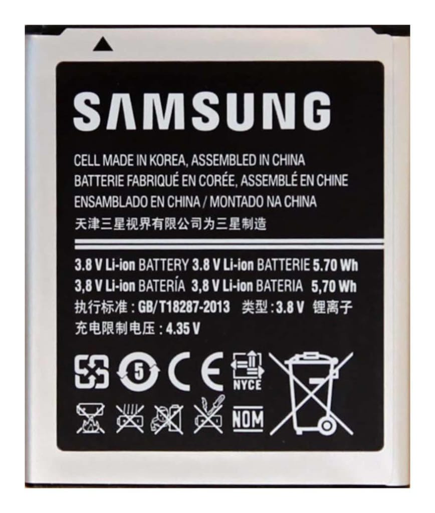 Original Samsung EB425161LU battery for Galaxy Ace 2 II Duos GT-S7560M GT-i8160 Pic1
