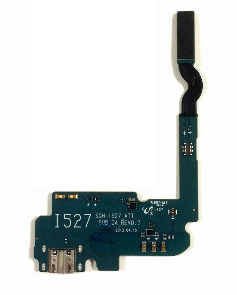 Charging port flex cable and microphone for Samsung Galaxy Mega 6.3 SGH-i527 Pic0