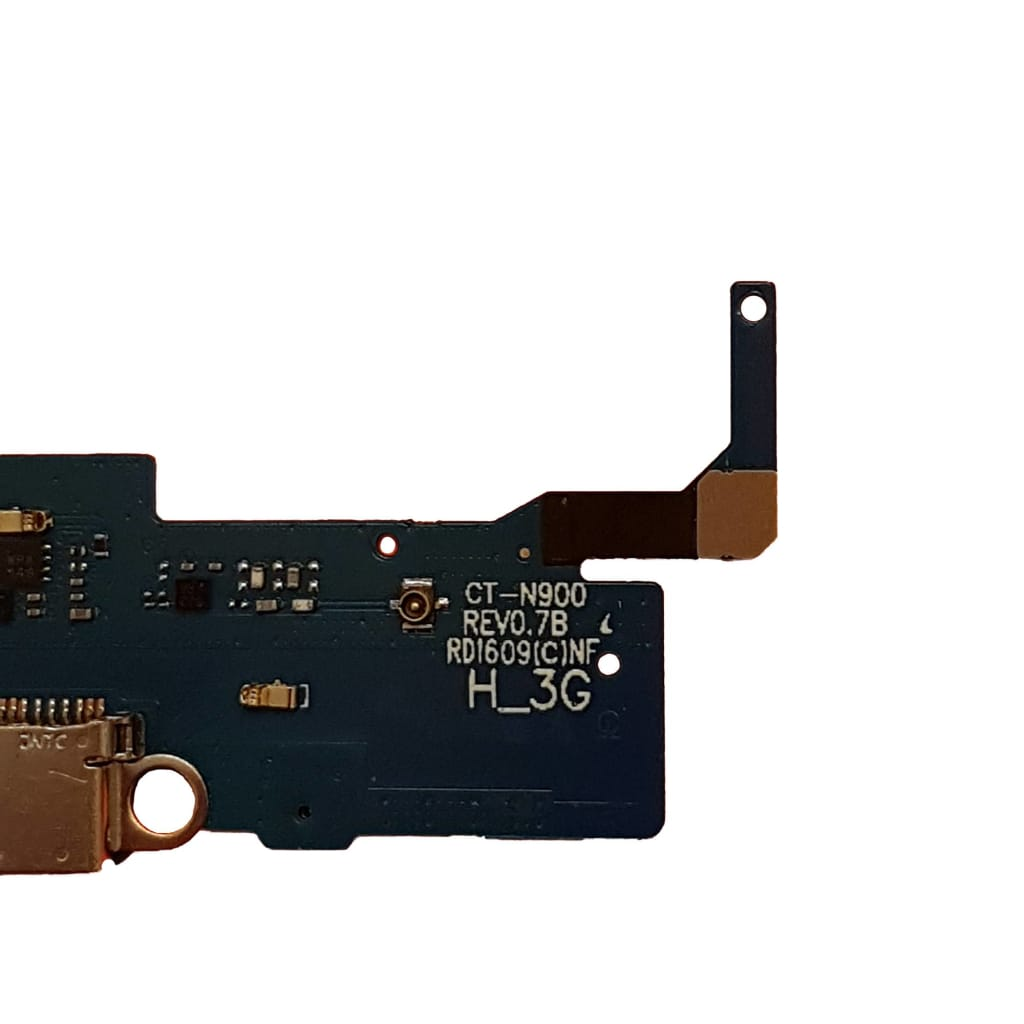 Charging port flex cable and microphone for Samsung Galaxy Note 3 N900 N9000 Pic1