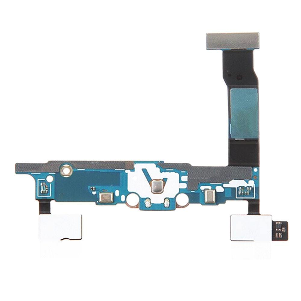 Charging port flex cable and microphone for Samsung Galaxy Note 4 N910W8 N910T Pic1