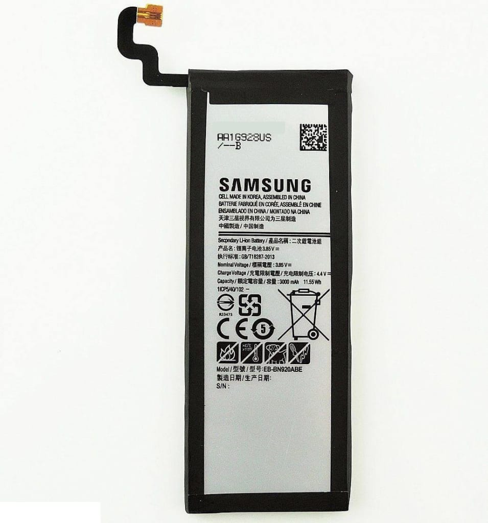 New Original Samsung Galaxy Note 5 battery EB-BN920ABE 3000 mAh  for N9200 Pic0