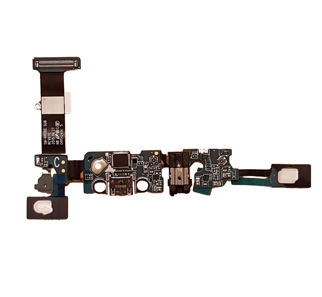 Charging port flex cable and microphone for Samsung Galaxy Note 5 N920W8 N9200 Pic0