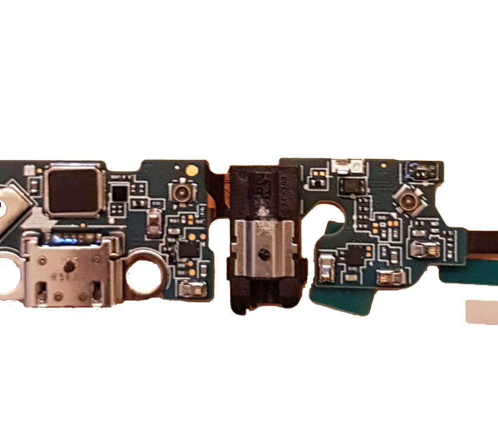 Charging port flex cable and microphone for Samsung Galaxy Note 5 N920W8 N9200 Pic2