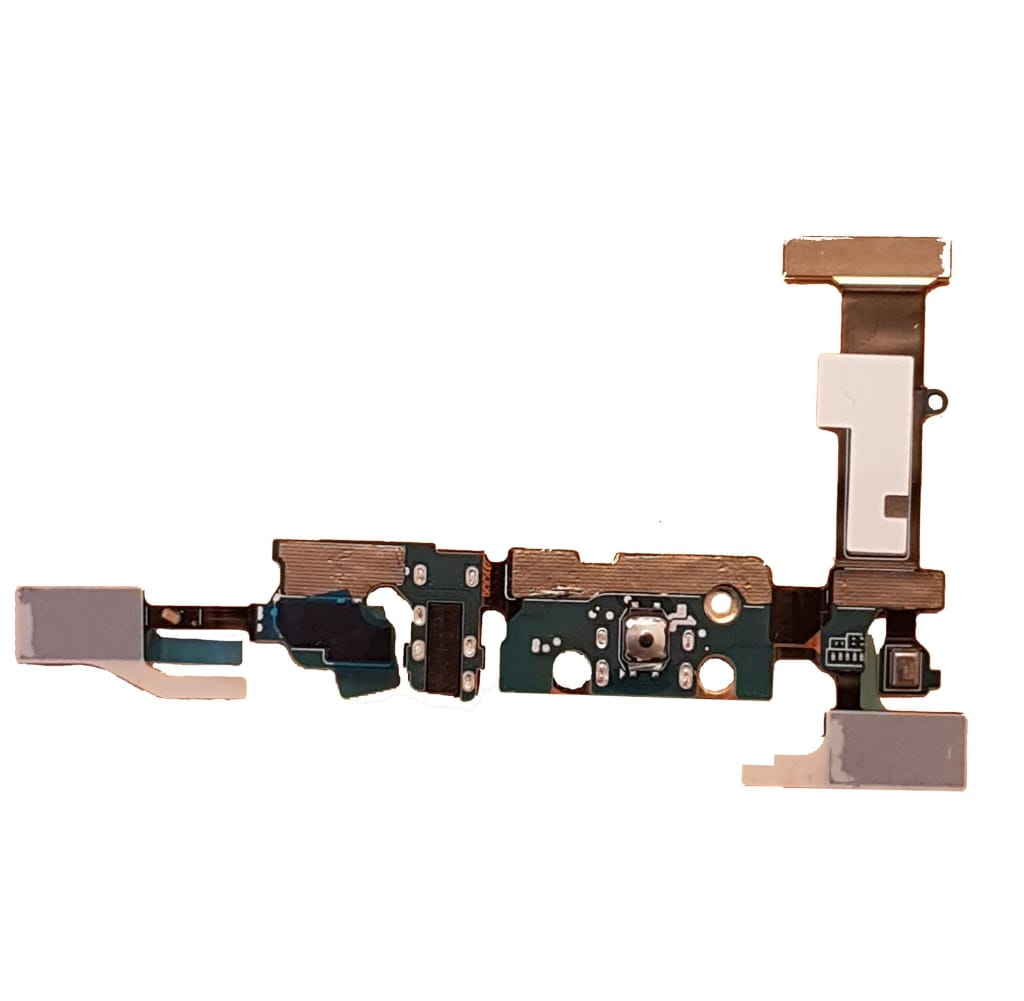 Charging port flex cable and microphone for Samsung Galaxy Note 5 N920W8 N9200 Pic3