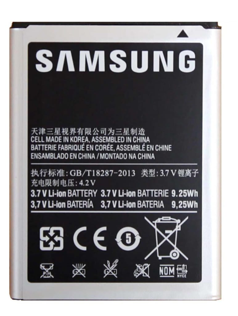 Original OEM Samsung Galaxy Note 1 battery EB615268VU for i9220 N7000 i717 T879 Pic1