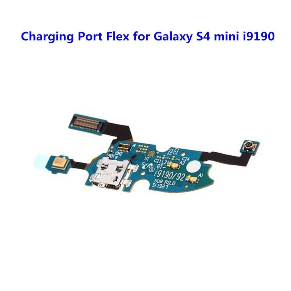 Charging port flex cable with microphone for Samsung Galaxy S4 Mini GT-I9195 Pic0