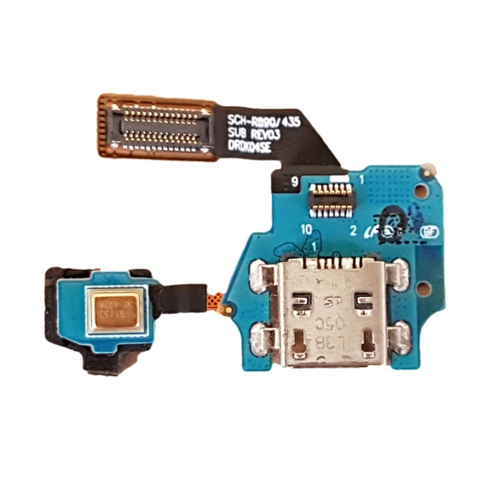 Charging port flex cable with microphone for Samsung Galaxy S4 Mini SCH-R890 Pic0