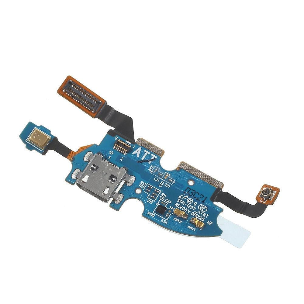 Charging port flex cable with microphone for Samsung Galaxy S4 Mini SGH-i257 Pic0