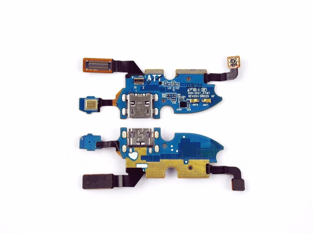 Charging port flex cable with microphone for Samsung Galaxy S4 Mini SGH-i257 Pic3