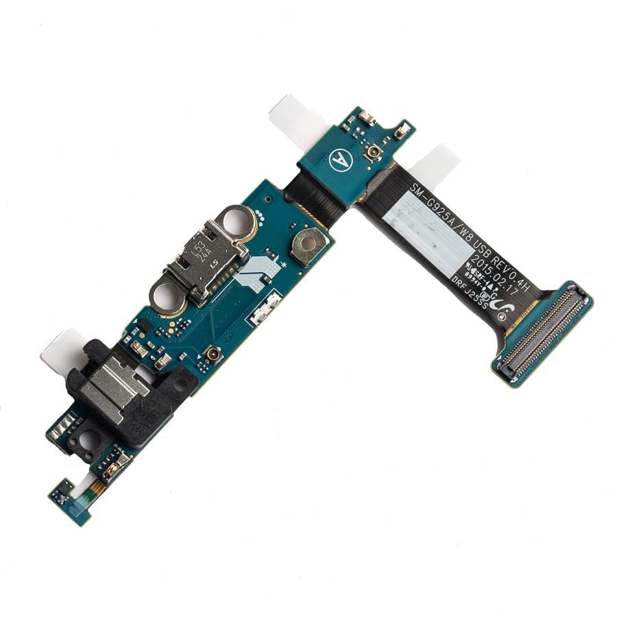 Charging port flex cable with microphone for Samsung Galaxy S6 Edge G925W8 G925A Pic1