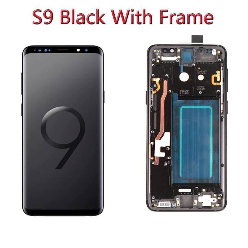 LCD Touch Screen Digitizer Display with Frame for Samsung Galaxy S9 SM-G960 Pic1