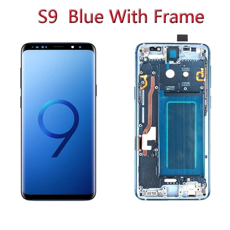 LCD Touch Screen Digitizer Display with Frame for Samsung Galaxy S9 SM-G960 Pic2
