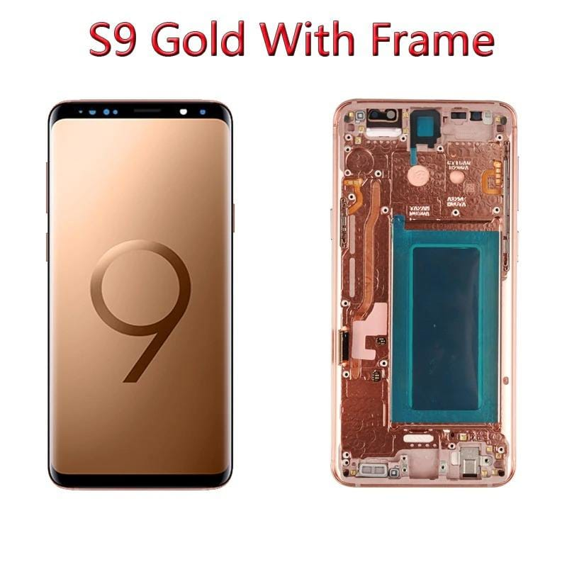 LCD Touch Screen Digitizer Display with Frame for Samsung Galaxy S9 SM-G960 Pic3