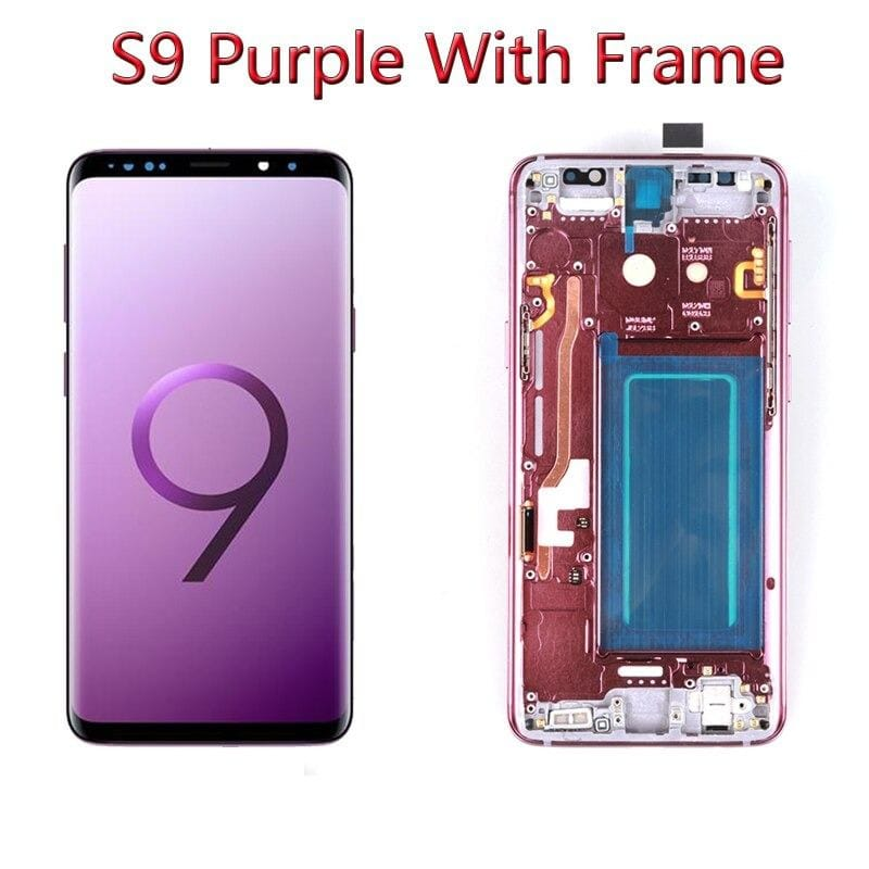 LCD Touch Screen Digitizer Display with Frame for Samsung Galaxy S9 SM-G960 Pic5