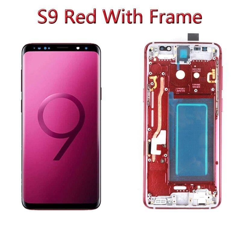 LCD Touch Screen Digitizer Display with Frame for Samsung Galaxy S9 SM-G960 Pic6