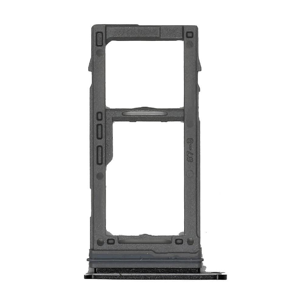 Black SIM Card Tray Holder with Eject Tool for Samsung Galaxy S9 / S9 Plus Pic1