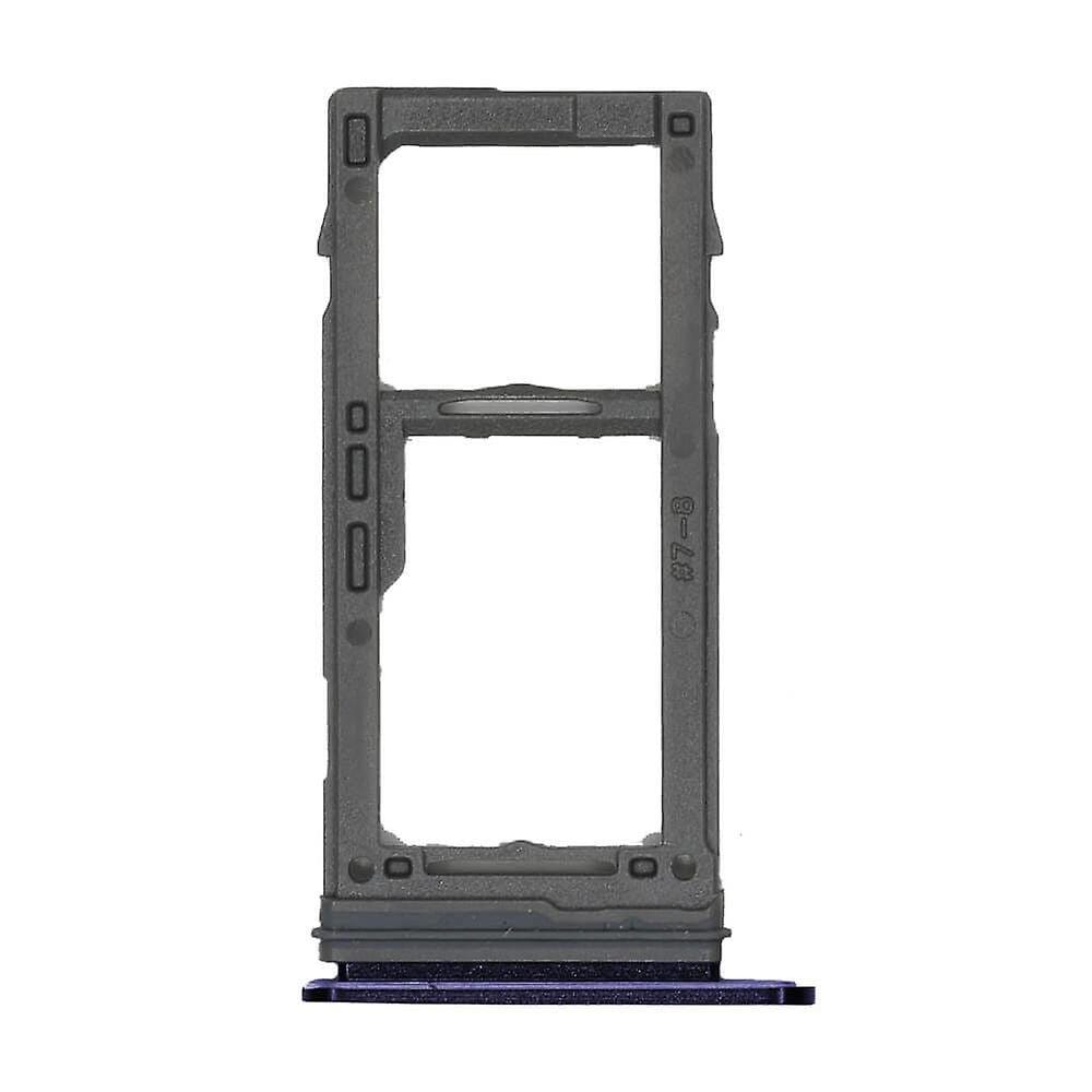 Blue SIM Card Tray Holder with Eject Tool for Samsung Galaxy S9 / S9 Plus Pic1