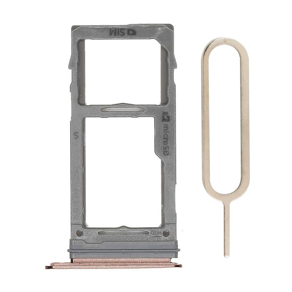 Gold SIM Card Tray Holder with Eject Tool for Samsung Galaxy S9 / S9 Plus Pic0