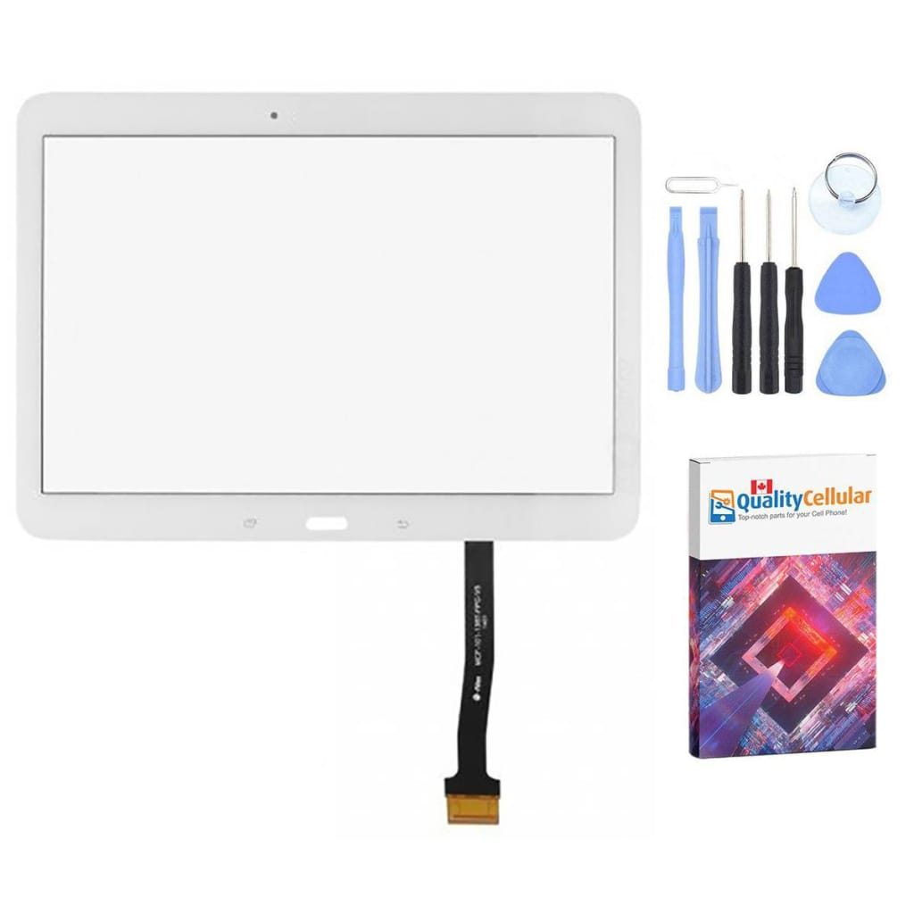 White Touch Screen Digitizer for Samsung Galaxy Tab 4 10.1 SM-T530 T531 T535 Main