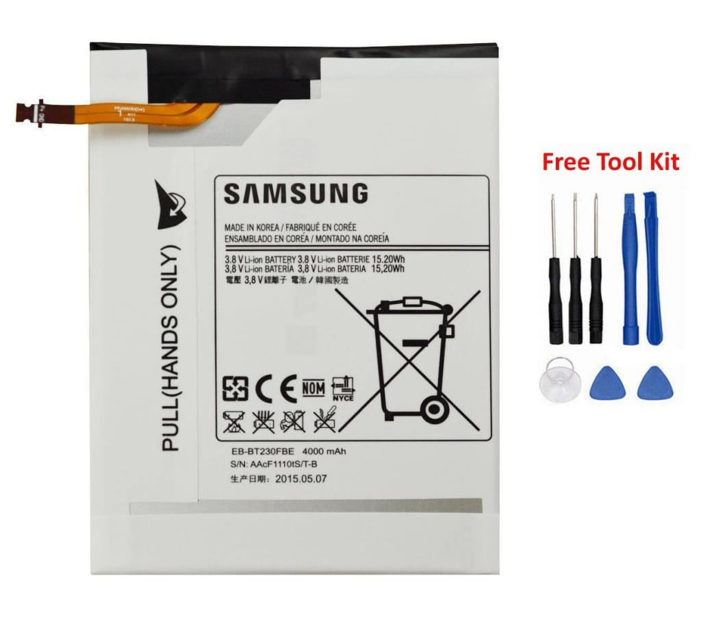 Original Samsung Galaxy Tab 4 7.0 battery EB-BT230FBU 4000 mAh for SM-T230NU Pic0