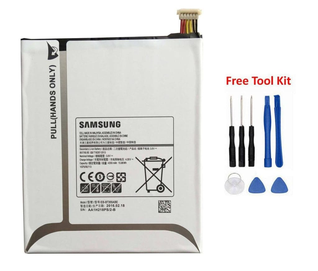 Original Samsung Galaxy Tab A 8.0 battery EB-BT355ABE 4200 mAh for SM-T350 T355 Pic0
