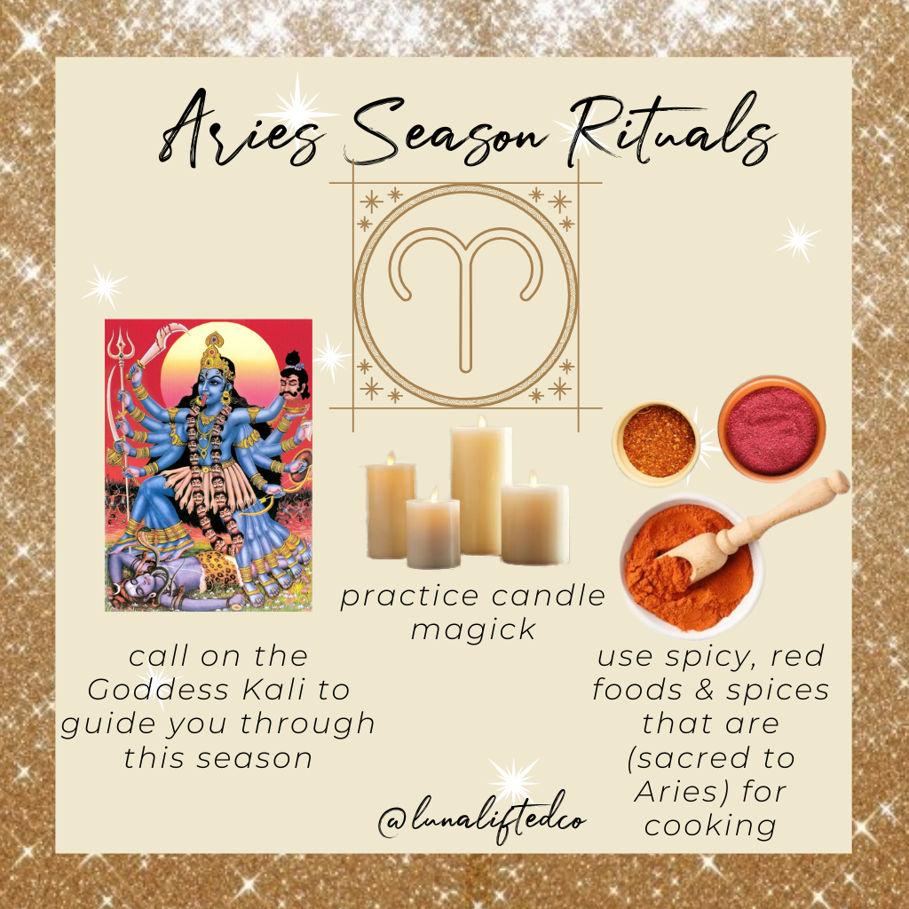 Aries, Divine Masculine, Kali, and Candle Magick
