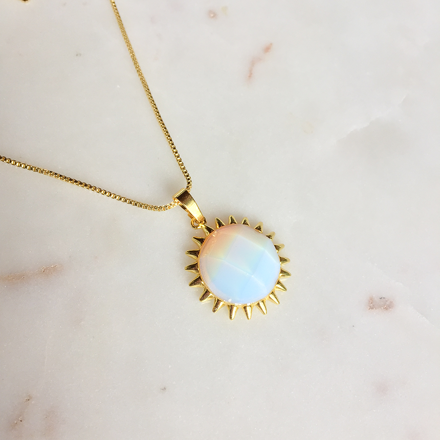 Opal Sunset Necklace