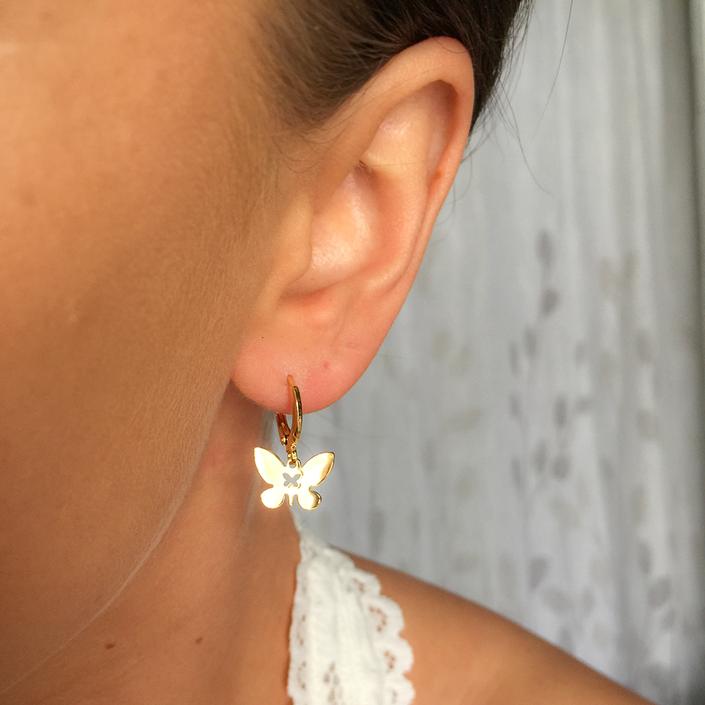 Butterfly Baby Earrings