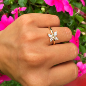 Butterfly Maiden Ring