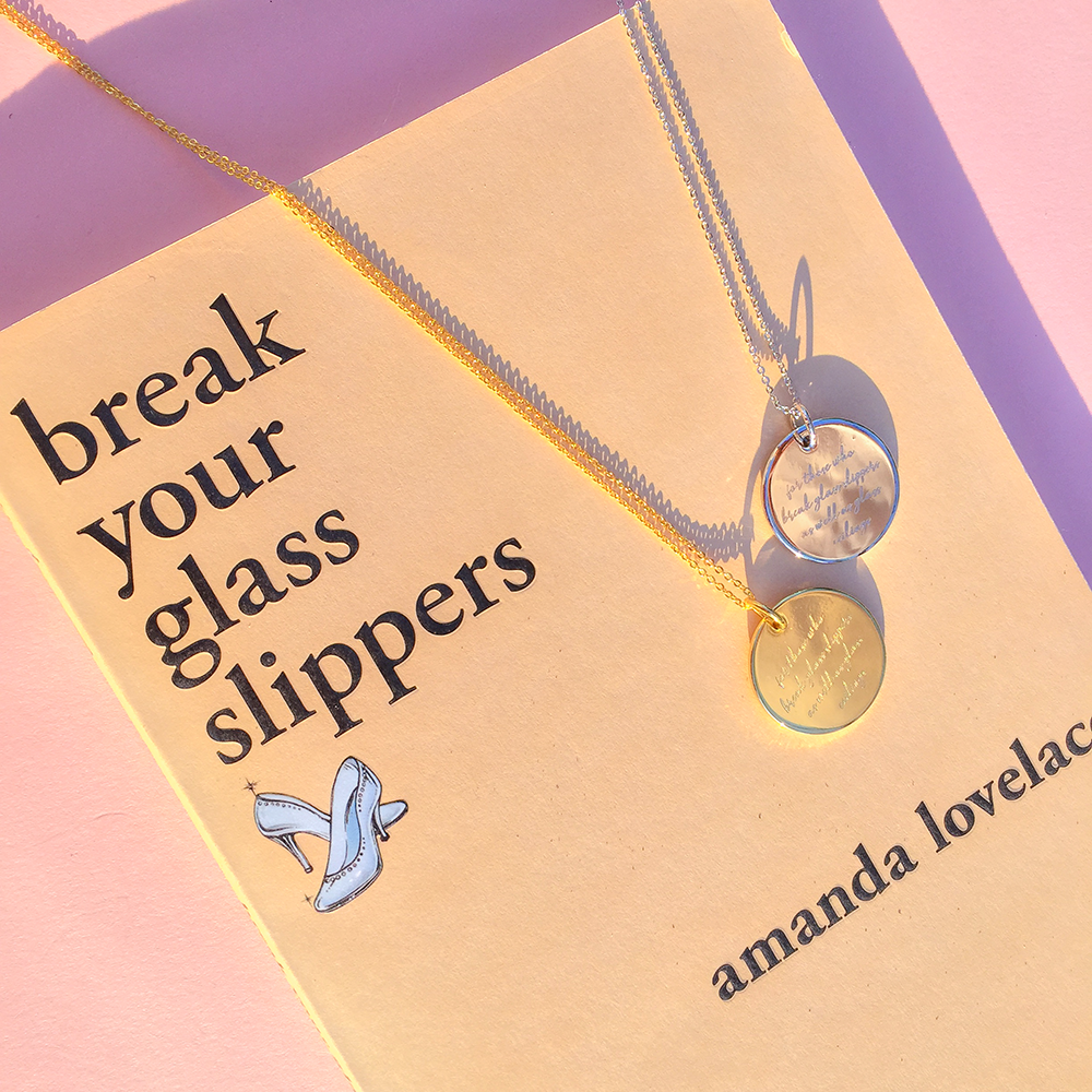 Break Your Glass Slippers Necklace