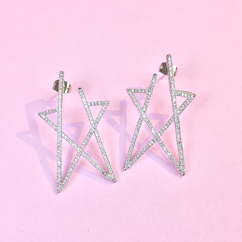 Star Of The Goddess Earrings