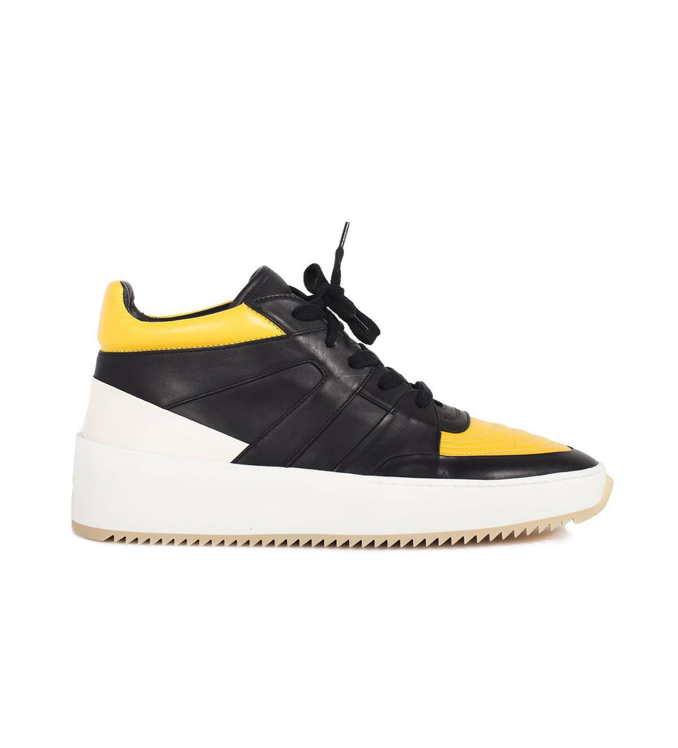 Black / Garden Glove Yellow Basketball Mid $ 895.00