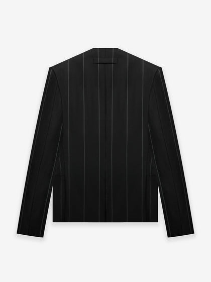 FEAROFGODZegna Wool Double Breasted Lapelless Jacket - Fear of God