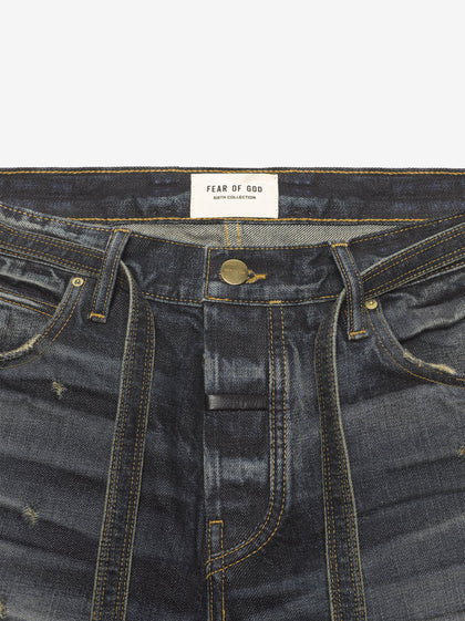 3 Year Vintage Wash Slim Denim Jean - Fear of God