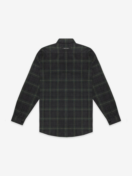 Long Sleeve Plaid Button Up - Fear of God